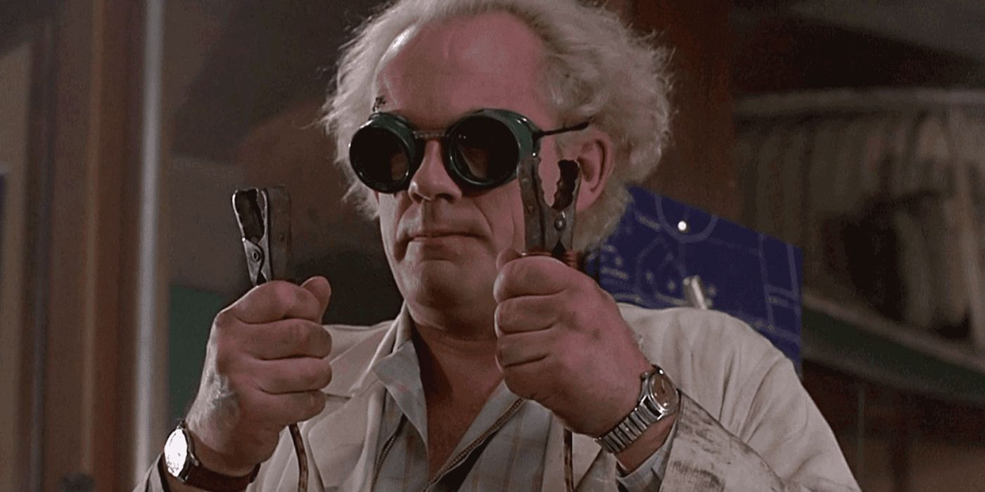 Doc Brown from